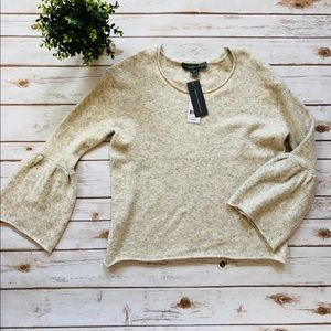 NWT French Connection light Heather Sweater